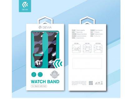 Řemínek pro Apple Watch 38mm / 40mm - Devia, Printing
