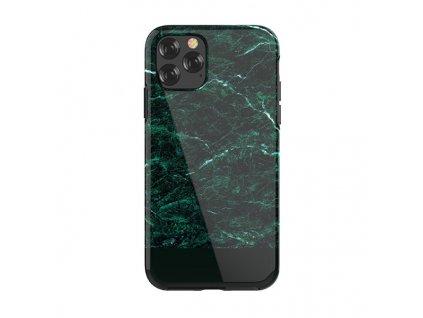Ochranný kryt pro iPhone 11 Pro MAX - Devia, Marble Green
