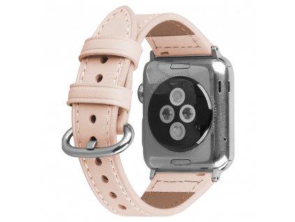 Řemínek pro Apple Watch 42mm / 44mm - Devia, Slim Pink
