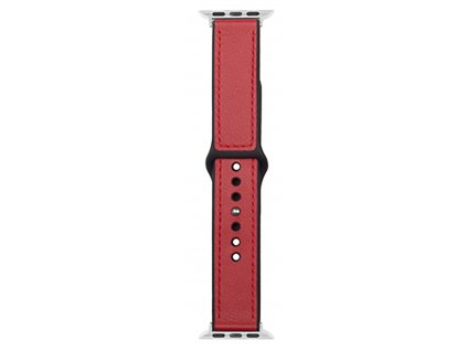 Řemínek pro Apple Watch 38mm / 40mm - Devia, Ostrich Red