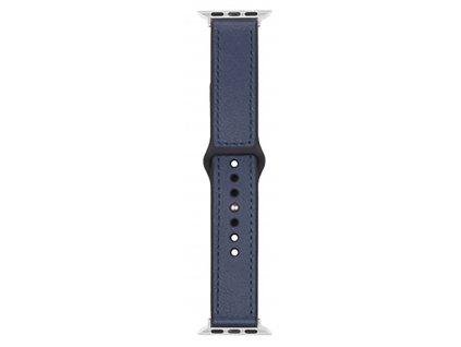 Řemínek pro Apple Watch 42mm / 44mm - Devia, Ostrich Blue
