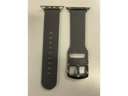 Řemínek pro Apple Watch 42mm / 44mm - Devia, Cowboy Black