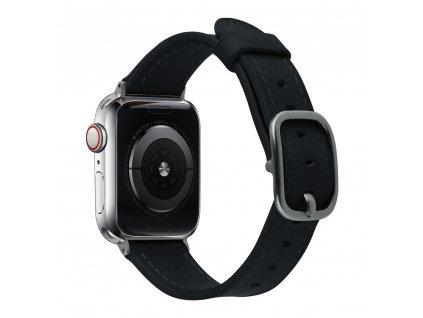 Řemínek pro Apple Watch 38mm / 40mm - Devia, Real Black