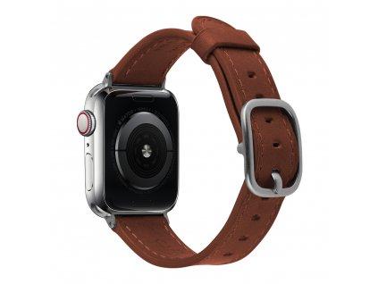 Řemínek pro Apple Watch 42mm / 44mm - Devia, Real Wine