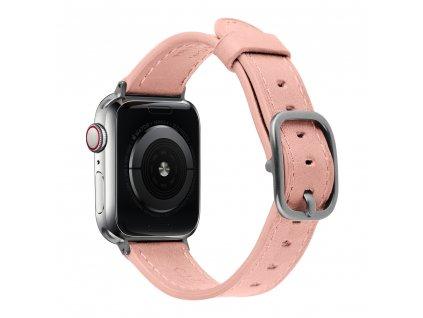 Řemínek pro Apple Watch 42mm / 44mm - Devia, Real Pink