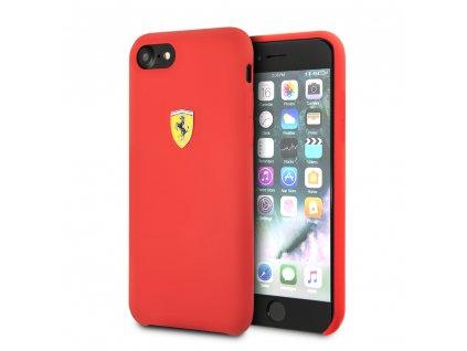 Ochranný kryt pro iPhone 7 / 8 / SE (2020) - Ferrari, SF Silicone Red