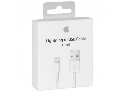 Originální kabel - Apple, USB-A/Lightning 100cm