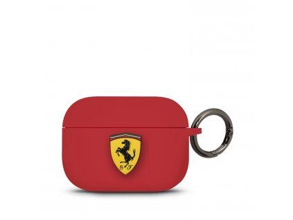 Pouzdro na sluchátka AirPods Pro - Ferrari, Red