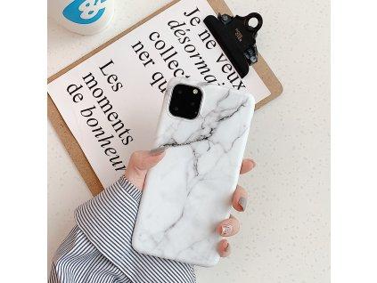 Ochranný kryt pro iPhone 7 / 8 / SE (2020) - Marble White