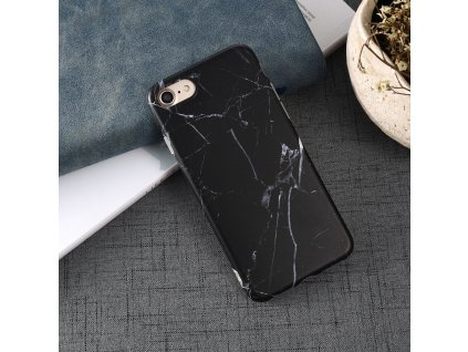 Ochranný kryt pro iPhone 7 / 8 / SE (2020) - Marble Black