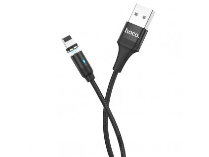 Magnetický kabel Lightning pro iPhone a iPad - Hoco, U76 Fresh Black