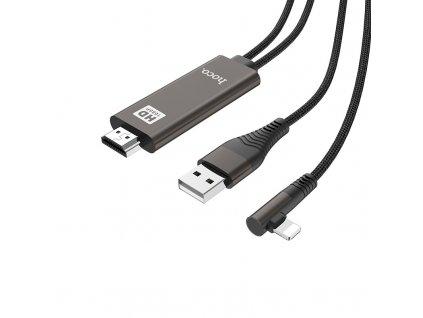 Adaptér pro iPhone / iPad - Hoco, UA14 Lightning-HDMI