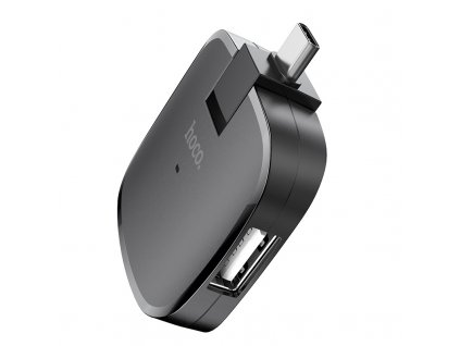 Redukce USB-C to USB-A - Hoco, HB11 Type-C Hub