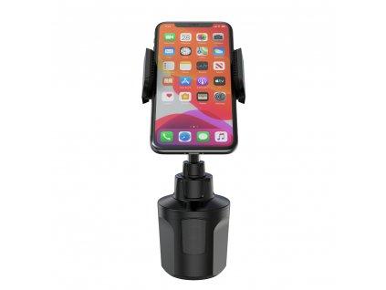 Univerzální držák mobilu do auta do držáku na nápoje - Devia, Smart Cup Holder