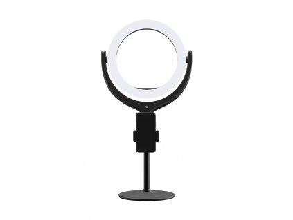 """Kruhové ring light LED světlo - Devia, Desktop Live Streaming 8"""""""