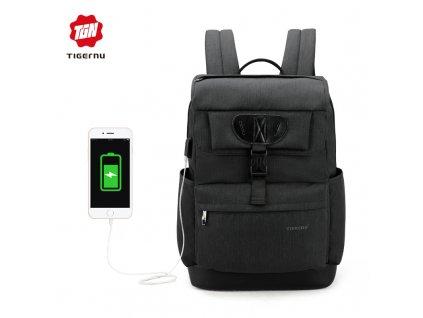 Městský batoh 15.6'' - Tigernu, T-B3513 Black