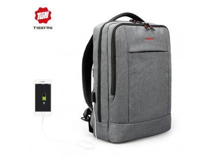 Městský batoh 15.6'' - Tigernu, T-B3331 Gray
