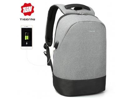 Městský batoh 15.6'' - Tigernu, T-B3595 Gray