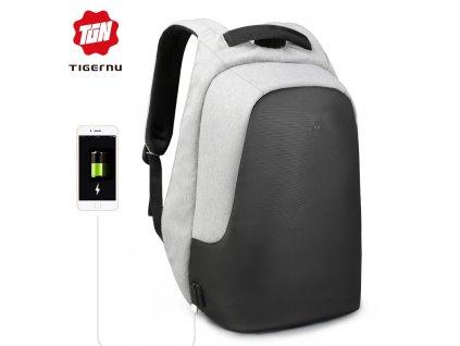 Městský batoh 15.6'' - Tigernu, T-B3615B Gray