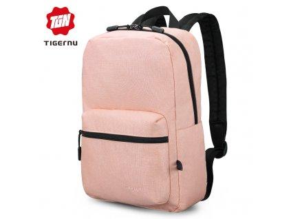 Městský batoh 14'' - Tigernu, T-B3825 Pink