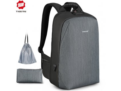 Městský batoh 15.6'' - Tigernu, T-B3669 Gray