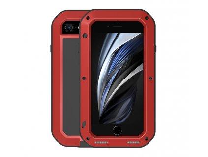Ochranný kryt pro iPhone 7 / 8 / SE (2020) - LOVE MEI, Powerful Red