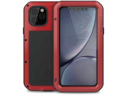 Ochranný kryt na iPhone 11 Pro - LOVE MEI, Powerful Red