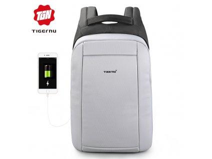 Městský batoh 15.6'' - Tigernu, T-B3599 Gray