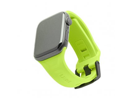 Řemínek pro Apple Watch 42mm / 44mm - UAG, Scout Strap Neon