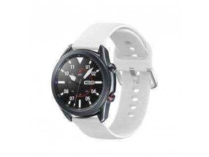 Řemínek pro Samsung Galaxy Watch 45mm - Tech-Protect, Iconband White