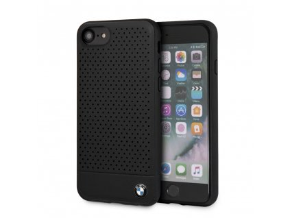 Ochranný kryt pro iPhone 7 / 8 / SE (2020) - BMW, Perforated Leather Black