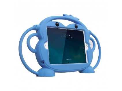 Dětské pouzdro pro iPad Air 1 / Air 2 / 2017 / 2018 - Cartoon Monkey, Blue