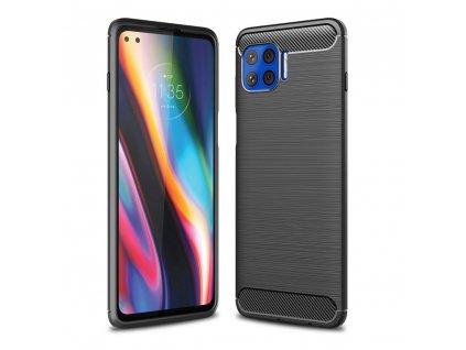 Ochranný kryt na Motorola Moto G 5G PLUS - Tech-Protect, Tpucarbon Black