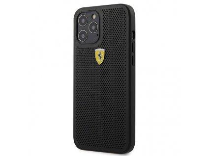 Ochranný kryt pro iPhone 12 mini - Ferrari, On Track Perforated Black
