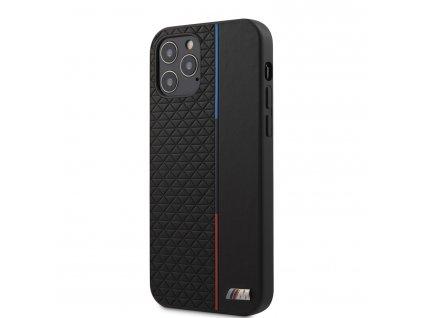 Ochranný kryt pro iPhone 12 / 12 Pro - BMW, Triangles Tricolor Black
