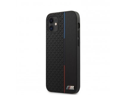 Ochranný kryt pro iPhone 12 mini - BMW, Triangles Tricolor Black