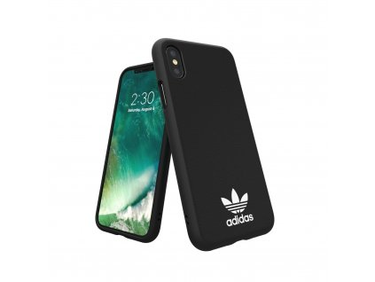 Ochranný kryt pro iPhone XS / X - Adidas, Moulded Case New Basic Black