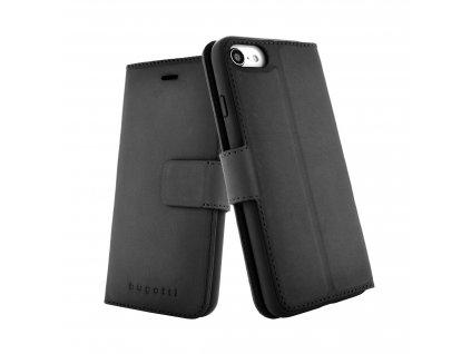 Pouzdro / kryt pro iPhone 7 / 8 / SE (2020) - Bugatti, Zurigo Black