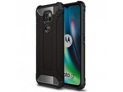 Ochranný kryt na Motorola Moto G9 Play - Tech-Protect, Xarmor Black