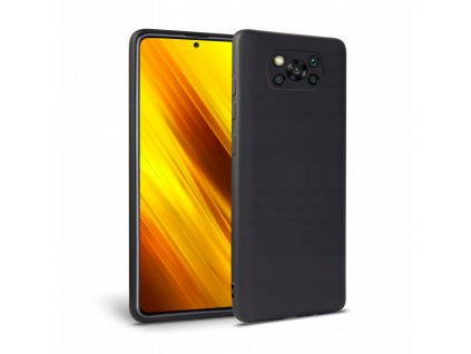 Ochranný kryt pro Xiaomi Poco X3 NFC - Tech-Protect, Icon Black