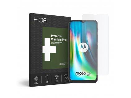 Hybridní ochranné sklo na Motorola Moto G9 Play - Hofi, Glass Pro+