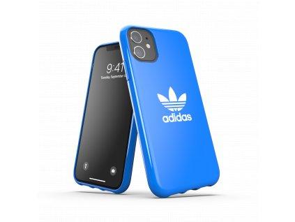 Ochranný kryt na iPhone 11 - Adidas, Snap Case Trefoil Blue