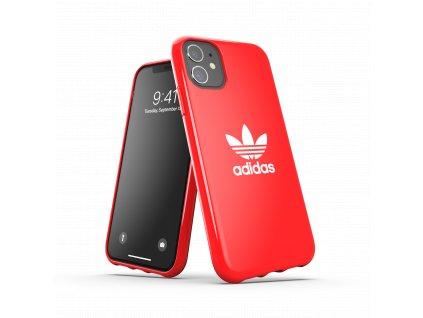 Ochranný kryt na iPhone 11 - Adidas, Snap Case Trefoil Red