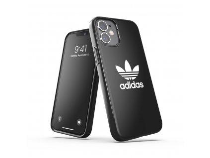 Ochranný kryt na iPhone 12 mini - Adidas, Snap Case Trefoil Black