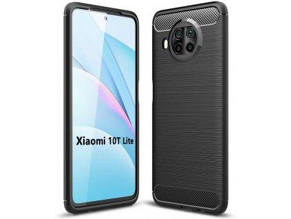 Ochranný kryt pro Xiaomi Mi 10T Lite - Tech-Protect, Tpucarbon Black