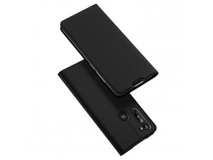 Pouzdro pro Motorola Moto G8 - DuxDucis, SkinPro Black