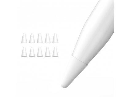 Sada krytů na hrot Apple Pencil - DuxDucis, Silicone Tip Cover (10ks)
