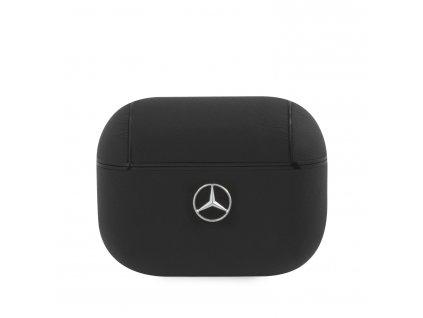 Pouzdro na sluchátka AirPods Pro - Mercedes, Leather Black