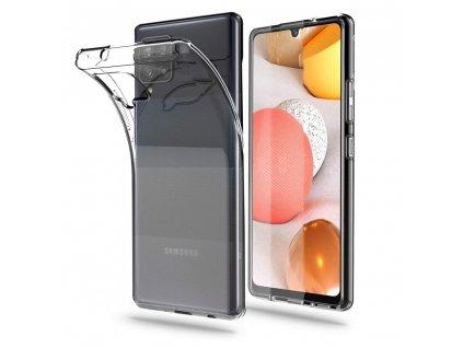 Ochranný kryt pro Samsung Galaxy A42 5G - Tech-Protect, Flexair Crystal
