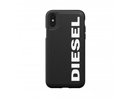 Ochranný kryt pro iPhone XS / X - Diesel, Moulded Case Core Black